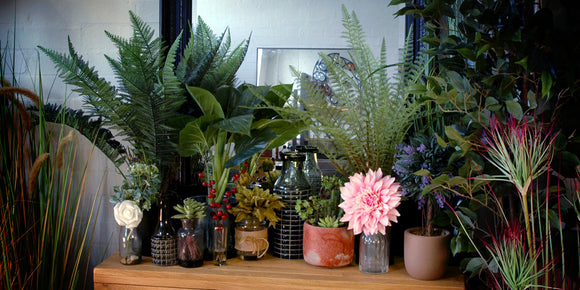 Faux Plants and Flowers