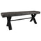 Foundry Oak Small Upholstered Bench