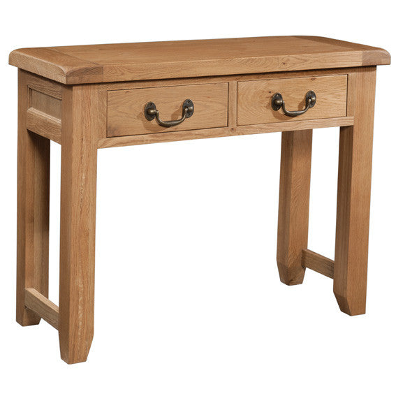 brockenhurst-oak-2-drawer-console-table