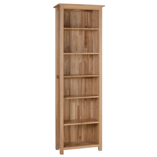 hampshire-oak-narrow-6-bookcase