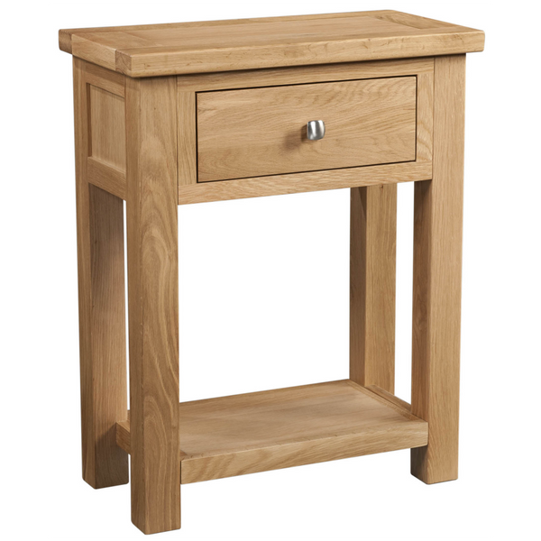 Oxford Oak 1 Drawer Console Table