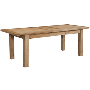 Oxford Oak Medium Extending Table with 2 Leaves
