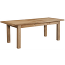 Hampshire Oak Medium Extending Table with 2 Leaves