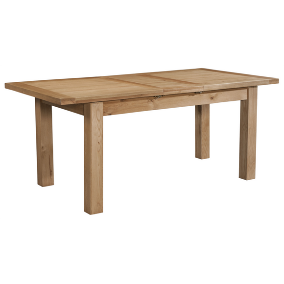 Oxford Oak Small Extending Table 1 Leaf
