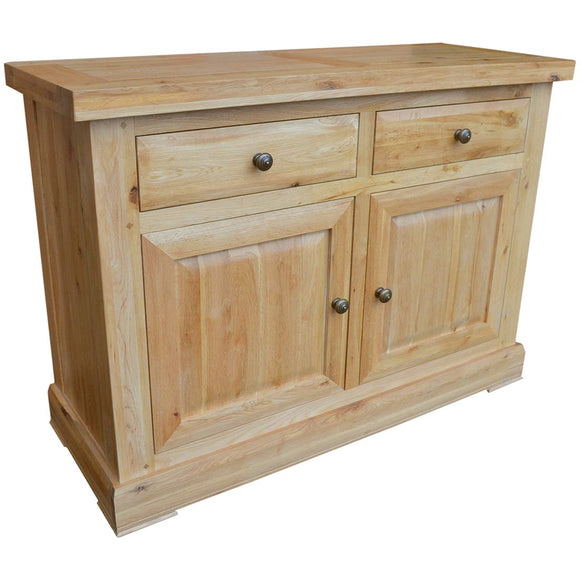 French Oak 2 Door Sideboard