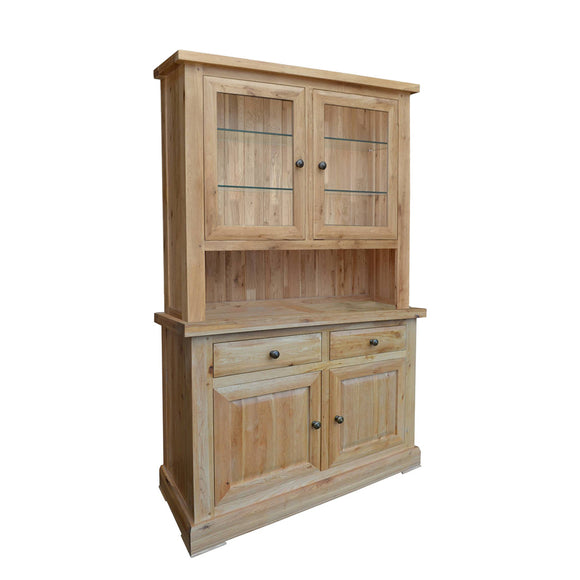 French Oak Small Complete Dresser