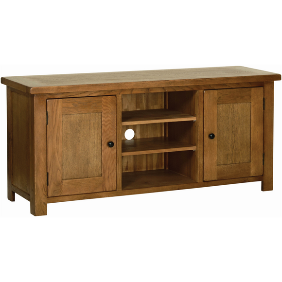 Petersfield Oak Large TV Unit