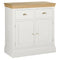 Eton White 2 Drawer Sideboard