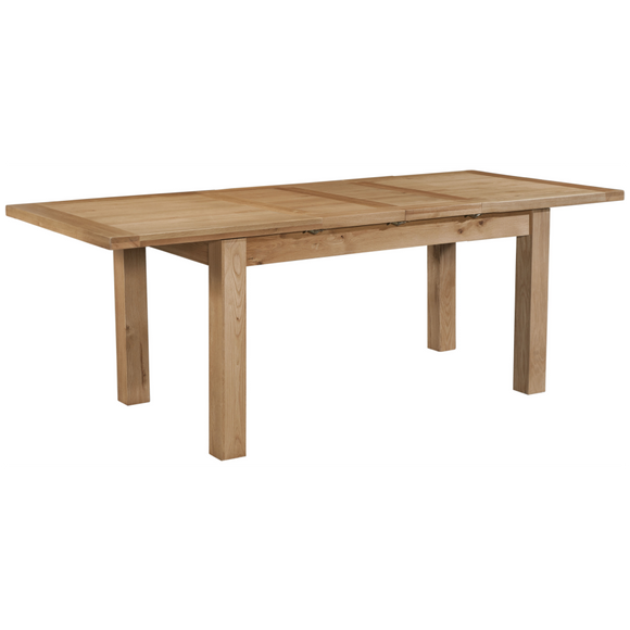 Hampshire Oak Large Extending Table with 2 Leaves