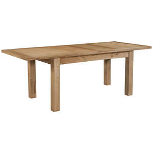 Oxford Oak Large Extending Table with 2 Leaves