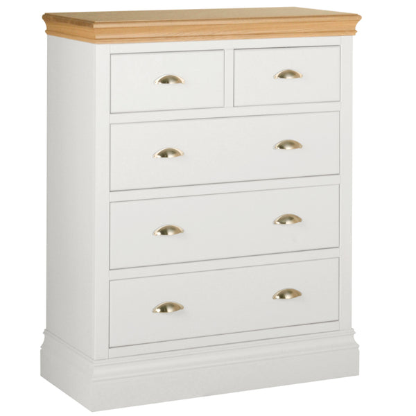 Eton White 2 Over 3 Chest