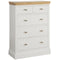Eton White 2 Over 3 Jumper Chest