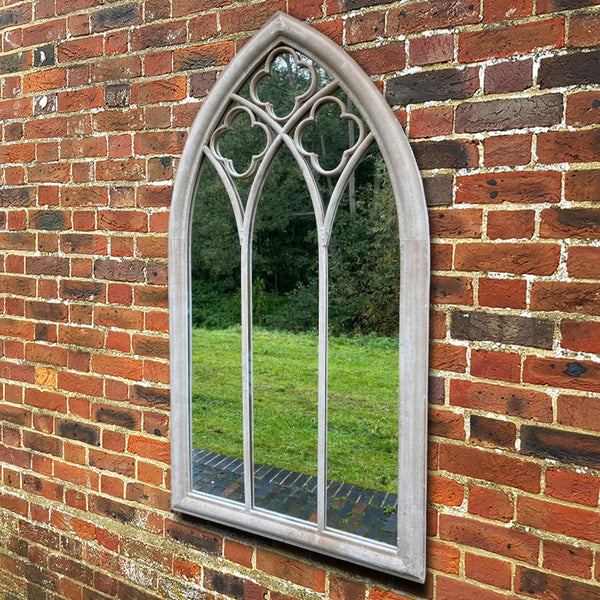 Large Outdoor Arched Mirror