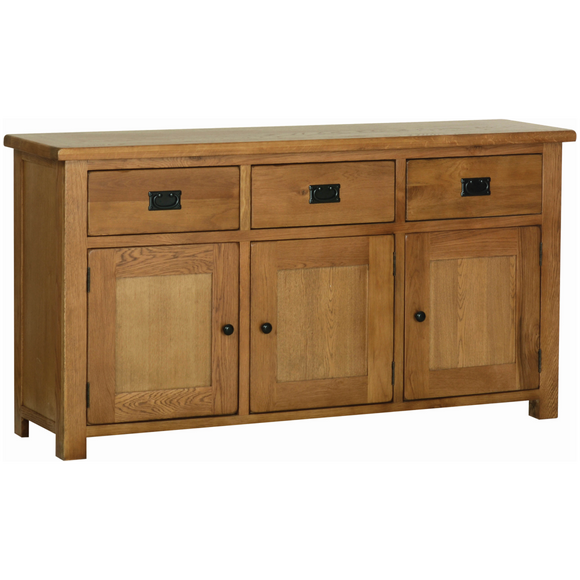 Petersfield Oak Large Sideboard