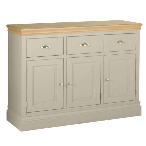 Eton Platinum 3 Drawer Sideboard