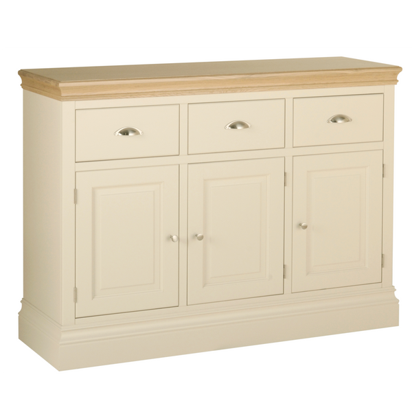 Eton Ivory 3 Drawer Sideboard