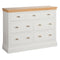 Eton White 3 Over 4 Jumper Chest