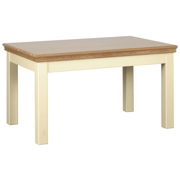 "Eton Truffle 4'6"" Fixed Top Table"