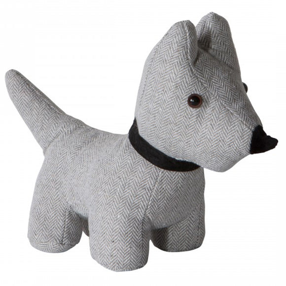 Herringbone Dog Doorstop