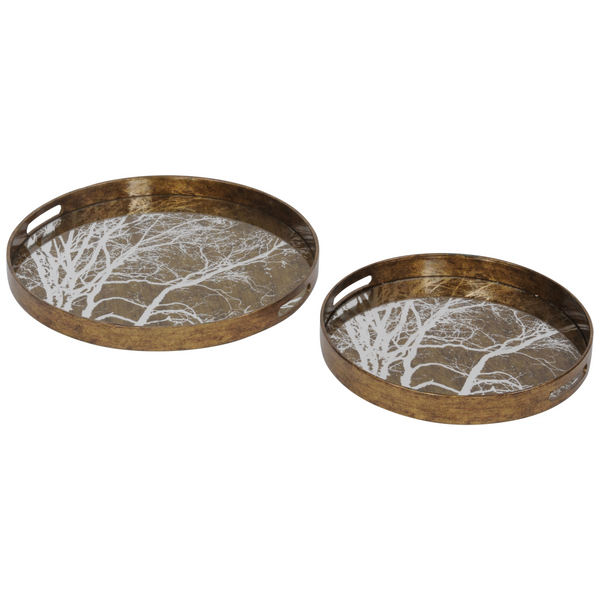 Set of 2 Branch Trays