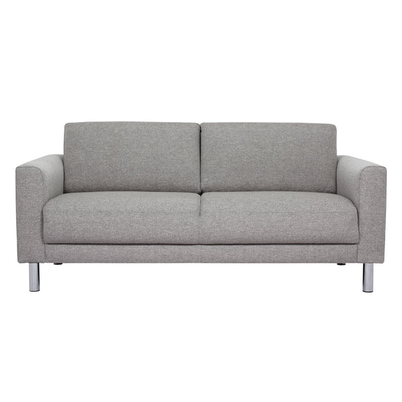 Manhattan 2 Seater Sofa Light Grey