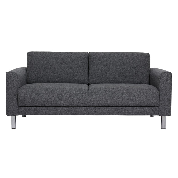 Manhattan 2 Seater Sofa Charcoal