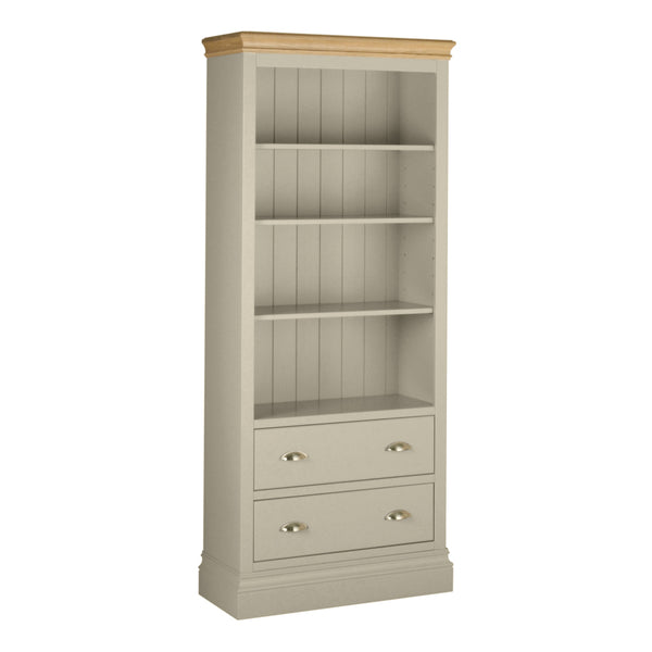 Eton Platinum 6' Bookcase with Drawers