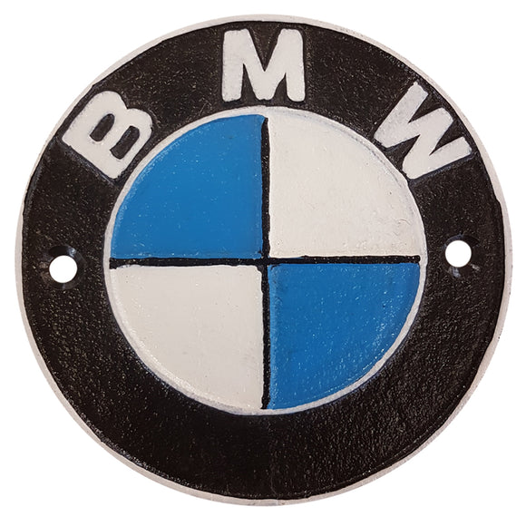 BMW Metal Wall Plaque