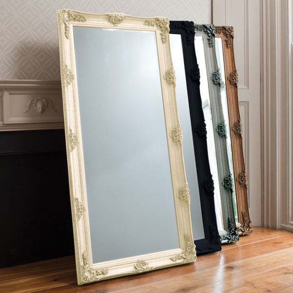 Cream Beaulieu Leaner Mirror