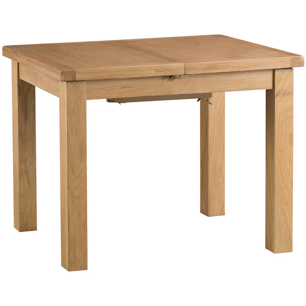 Country Oak 1m Extending Table