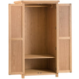 Country Oak All Hanging Wardrobe