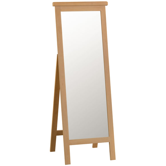 Country Oak Cheval Mirror