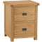 Country Oak Filing Cabinet