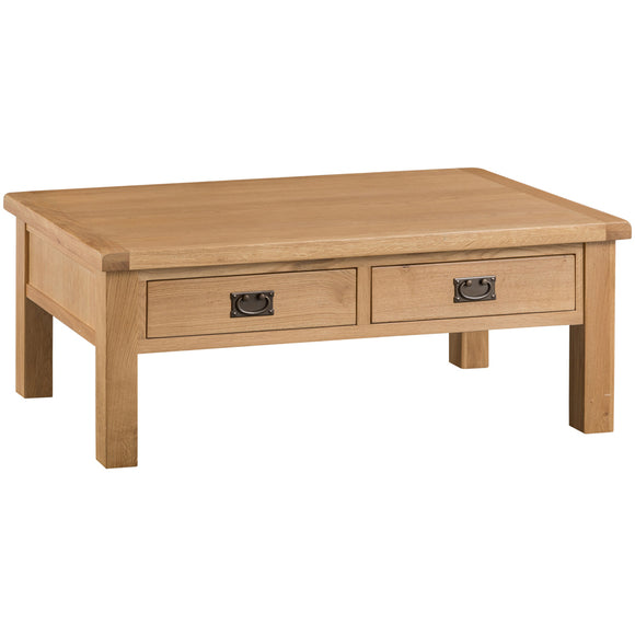 Country Oak Large Coffee Table