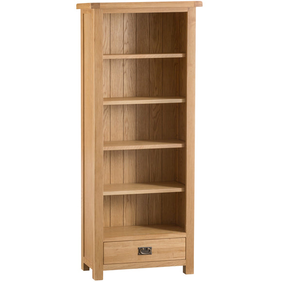 Country Oak Medium Bookcase
