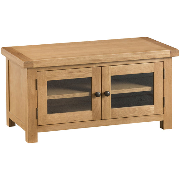 Country Oak Standard TV Unit