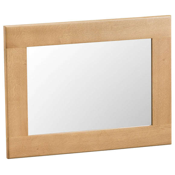 Country Oak Small Wall Mirror