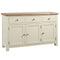 Oxford Painted 3 Drawer Sideboard