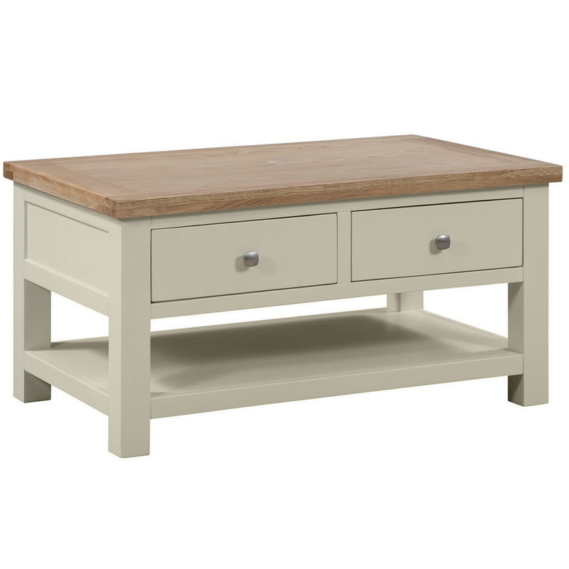 Oxford Painted Coffee Table with 2 Drawers