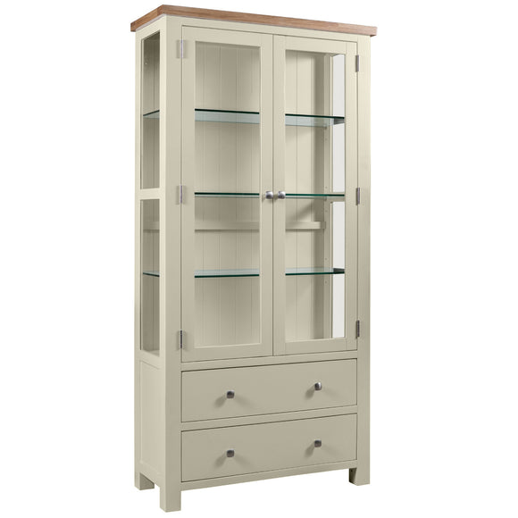 Oxford Painted Display Cabinet
