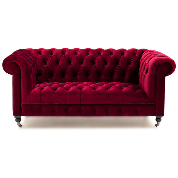 Balmoral 2 Seater Berry