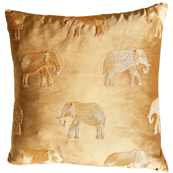 Elephant Safari Cushion