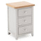 Richmond Painted 3 Drawer Bedside
