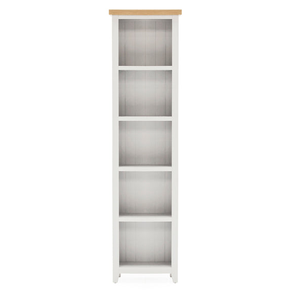 Richmond Painted Large Narrow Bookcase