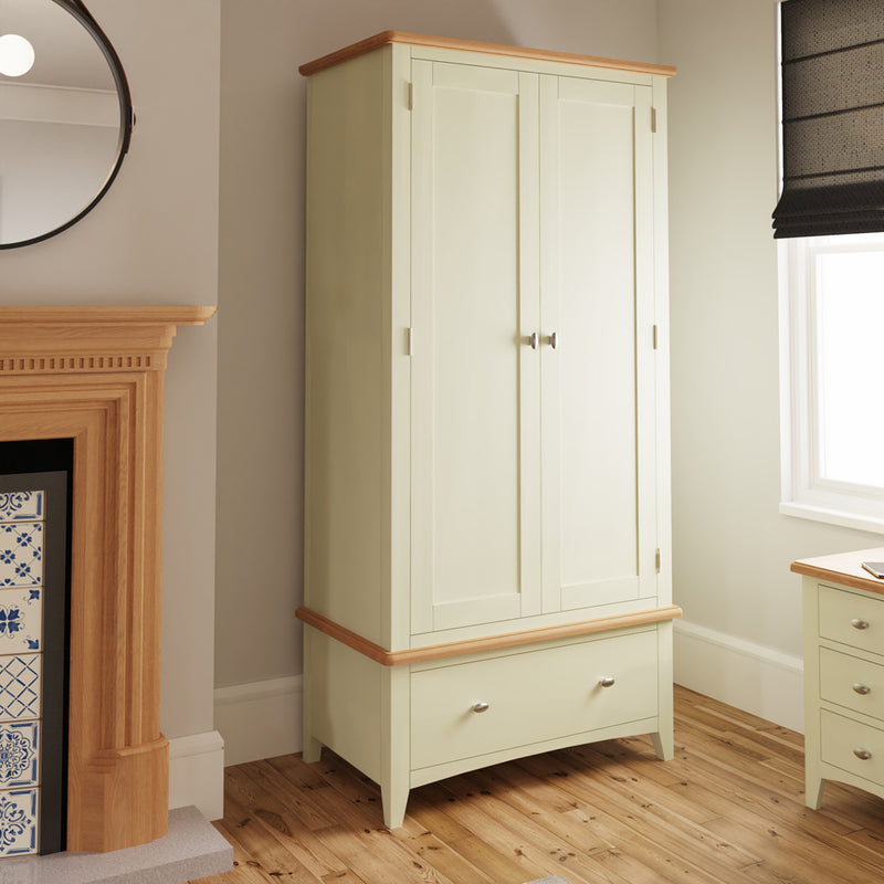 Chichester Painted Gents Wardrobe