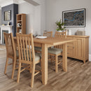 Chichester Oak 1.6m Extending Table