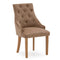 Mayfair Velvet Chair - Cedar