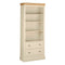 Eton Ivory 6' Bookcase with Drawers