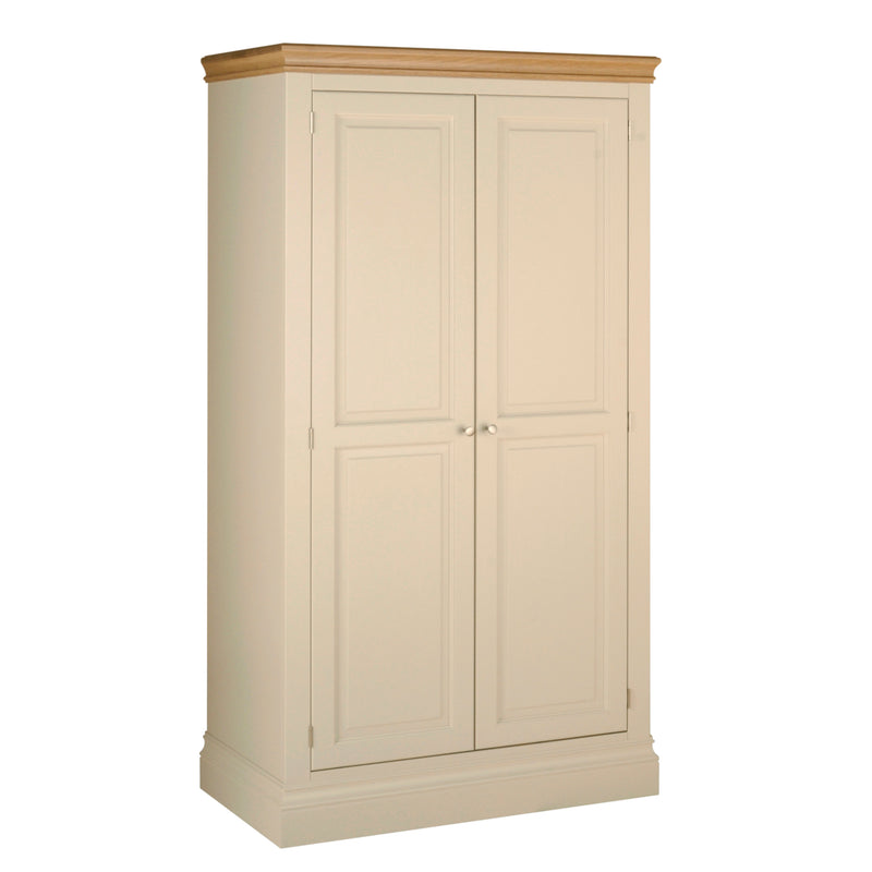 Eton Ivory All Hanging Double Wardrobe