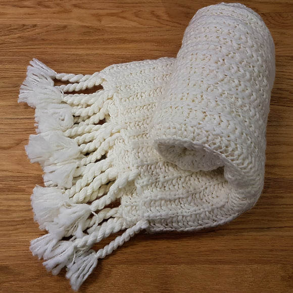 Lapland Chunky Cream Throw